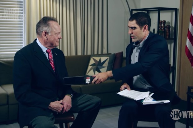Sacha Baron Cohen's Who Is America? Donated $200 to Roy Moore's Anti-Marriage Equality Group