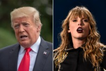 Trump Likes Taylor Swift's Music 25 Percent Less