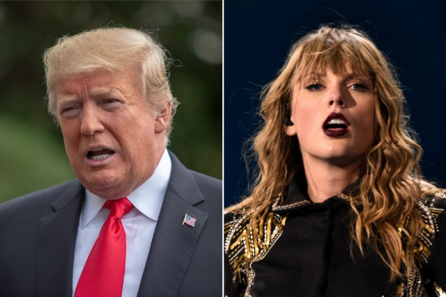 Trump Likes Taylor Swift's Music 25 Percent Less