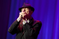 Leonard Cohen Art Exhibit Coming to New York and San Francisco