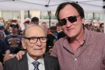 The Hateful Eight's Ennio Morricone Star Ceremony On The Hollywood Walk Of Fame