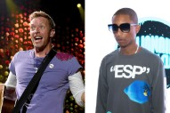 "Coldplay and Pharrell Release ""E-Lo"" Under New Band Name ""Los Unidades"""