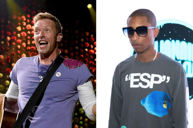 Coldplay and Pharrell Release