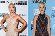 "Lady Gaga Says She Still Supports Katy Perry Despite ""Old Texts"" About Dr. Luke"