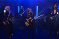 Watch boygenius Perform &#8220;Me and My Dog&#8221; On <i>Late Night With Seth Meyers</i>