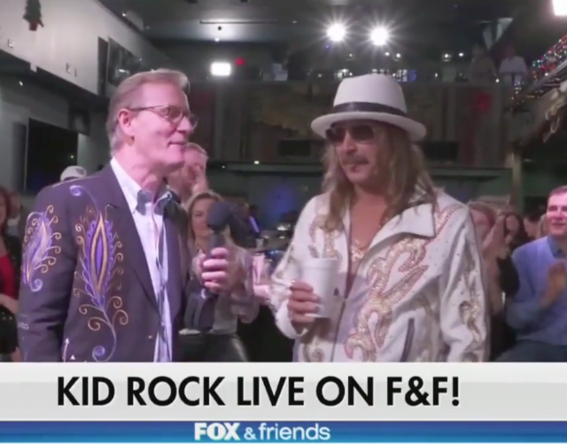 Kid Rock Joy Behar Fox and Friends