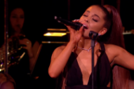 Here's Ariana Grande at the BBC, in Better Times