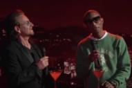 Bono and Pharrell Sing the Bee Gees&#8217; &#8220;Stayin&#8217; Alive&#8221; on <i>Kimmel</i>