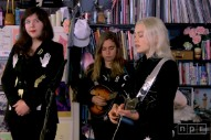 Watch Boygenius Perform for NPR's Tiny Desk Series