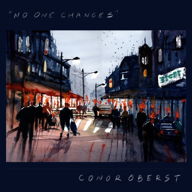 """Conor Oberst Releases """"No One Changes"""" and """"The Rockaways"""""""