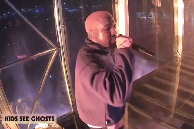 Here Are Some Funny Videos Of Kanye West Dancing Inside His Big Glass Box