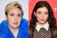 Lena Dunham Says She Hasn't Spoken to Lorde Since Breaking Up With Jack Antonoff