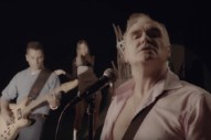 "Video: Morrissey – ""Back On The Chain Gang"" (The Pretenders Cover)"