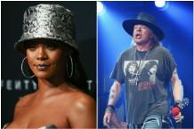 Rihanna Axl Rose Donald Trump Guns N' Roses