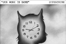 """Superchunk Release """"Our Work Is Done,"""" """"Total Eclipse"""""""