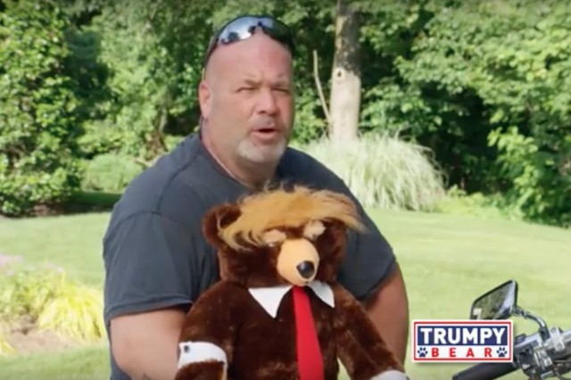 Trumpy Bear Commercial Airs on Fox News