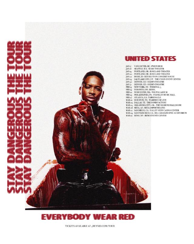 yg tour poster