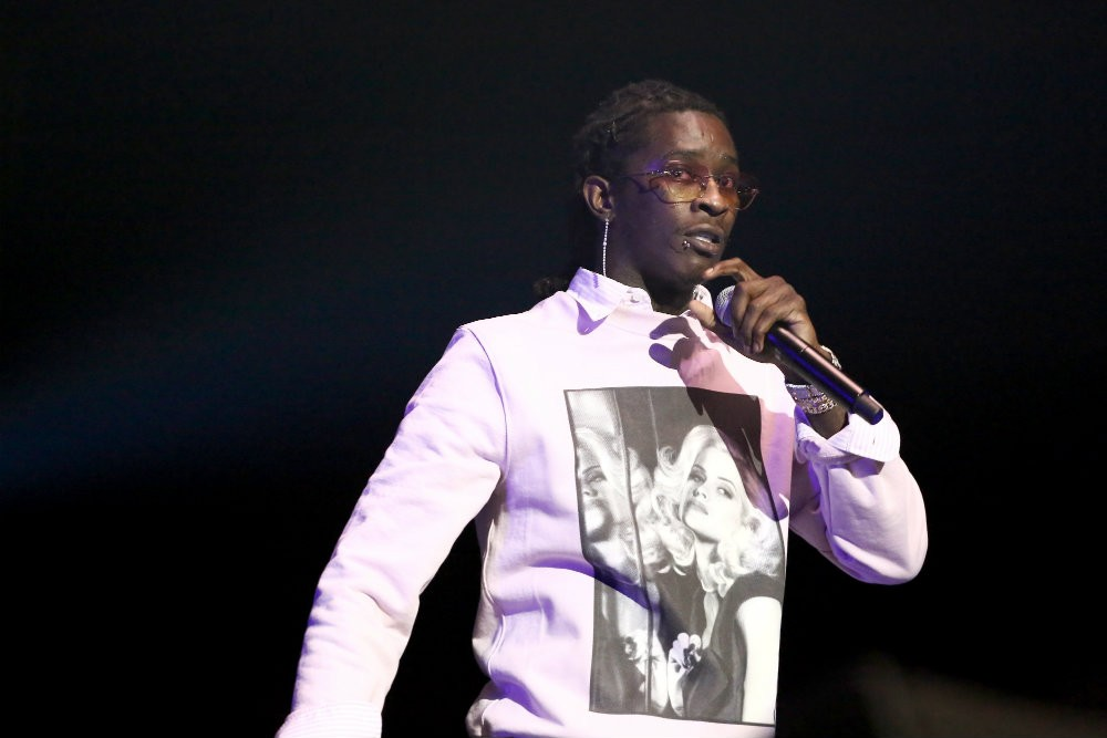 Young Thug Back In Jail After Failing Drug Test