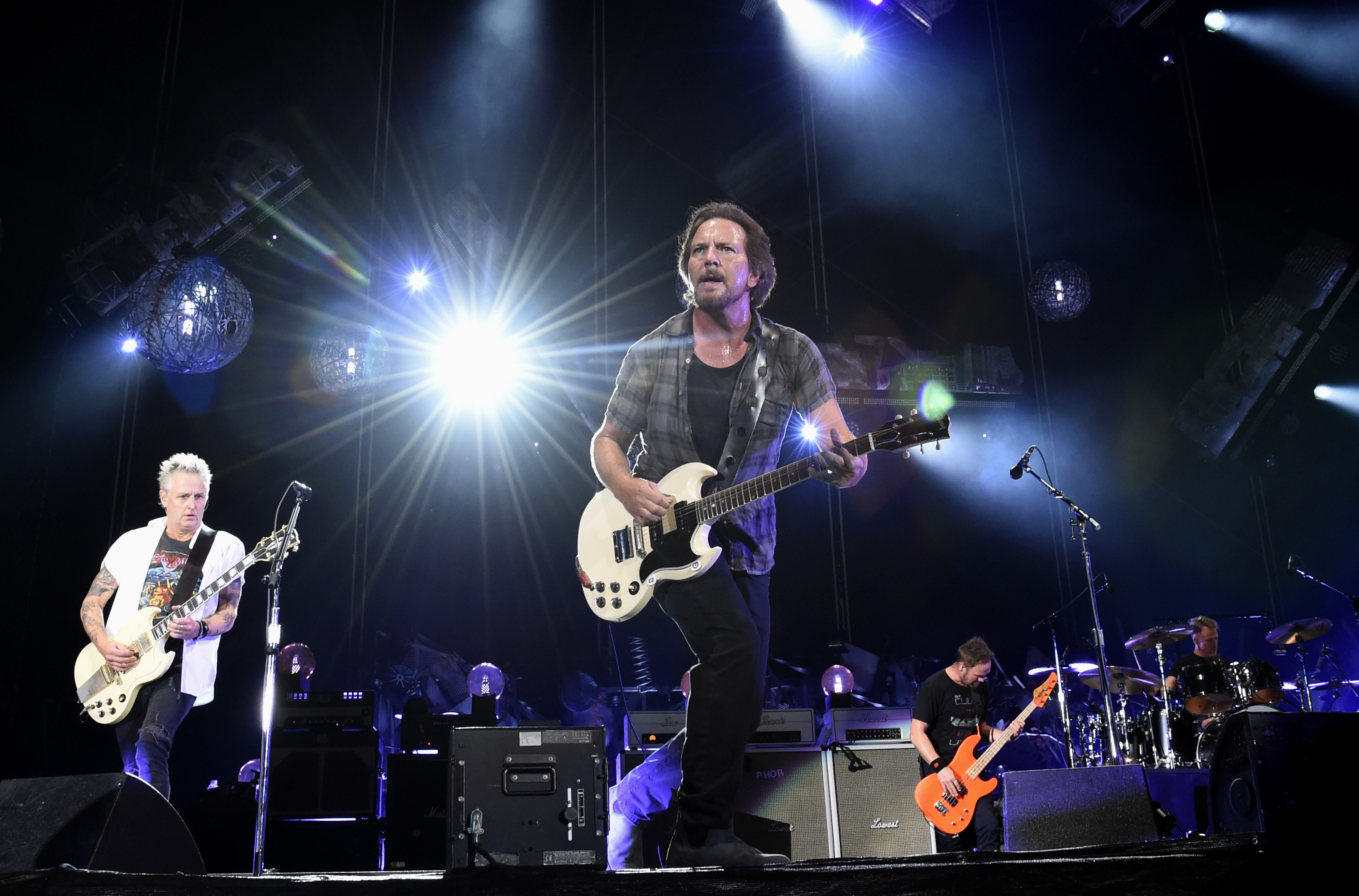 Pearl Jam Performs At Fenway Park