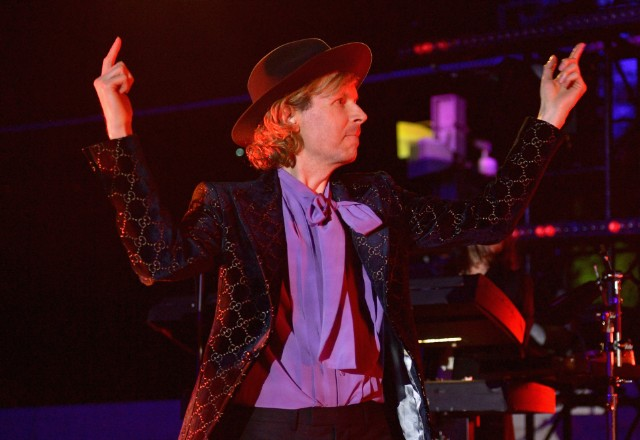 """beck father john misty este haim """"where it's at"""" wildfires benefit"""