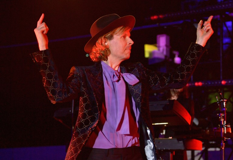 "beck father john misty este haim ""where it's at"" wildfires benefit"
