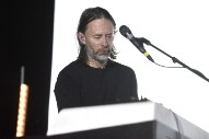 "Watch Thom Yorke Combine ""Silent Night"" and ""Reckoner"" in Live Performance Mashup"