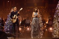 Watch She &#038; Him Perform &#8220;The Christmas Song&#8221; on <i>Corden</i>