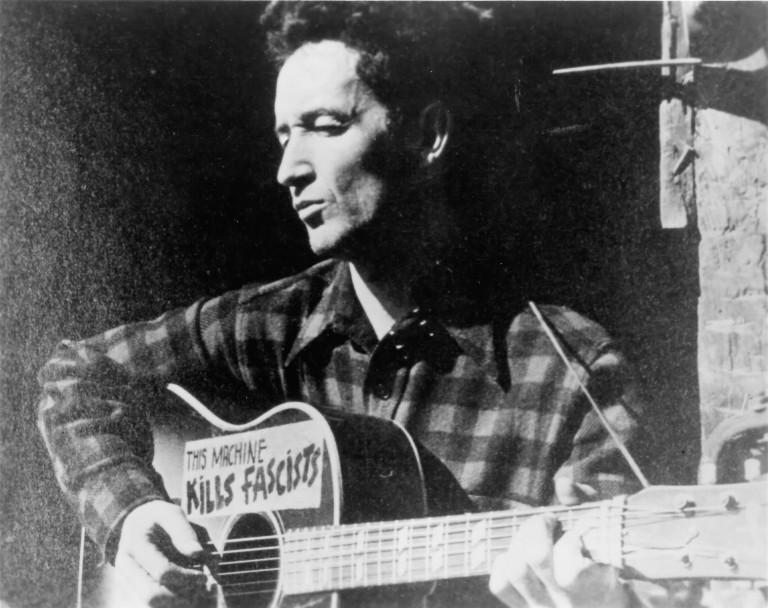 Woody Guthrie Hoodoo Voodoo Lost Recording