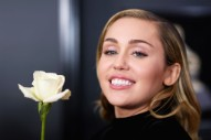 "Listen to Miley Cyrus' Cover of ""Happy Xmas (The War is Over)"" Featuring Mark Ronson and Sean Lennon"
