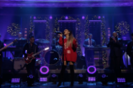 "Watch Ariana Grande Perform ""imagine"" on <i>Fallon</i>"