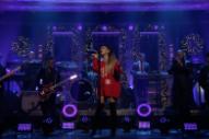 "Watch Ariana Grande Perform ""imagine"" on <i>Fallon</i>"
