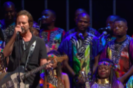 "Hear Eddie Vedder ""Sing a Prayer"" for Chris Cornell With Gospel Choir at Global Citizen Festival"