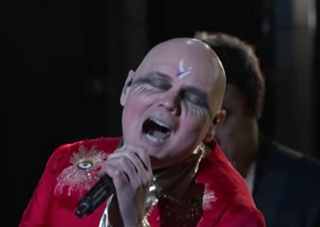 Billy Corgan Smashing Pumpkins Jimmy Kimmel Live