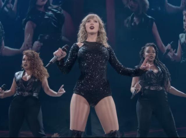 Taylor Swift Netflix Reputation Tour Movie