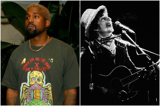 Kanye West Is Listening to Dylan's 'More Blood, More Tracks