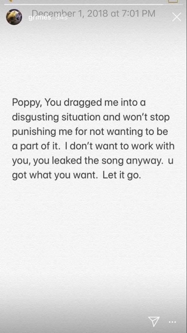 Grimes Poppy Response