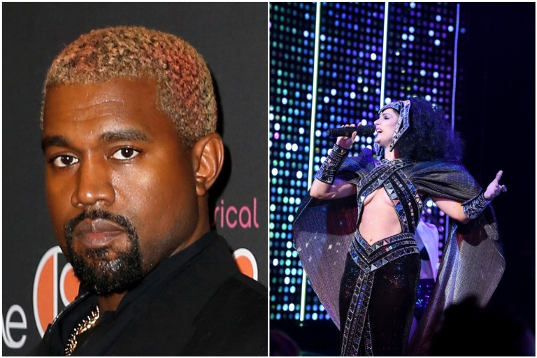 Kanye West the Cher Show