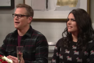 Watch Matt Damon Get Into a Heated Argument About Weezer on <i>SNL</i>