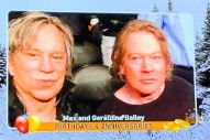Axl Rose and Mickey Rourke's Wedding Anniversary Celebrated in Local News Prank