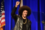 Colin Kaepernick Doesn't Seem to Approve of Travis Scott's Super Bowl Halftime Performance