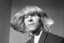 David Bowie Spying Through a Keyhole