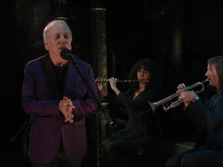 Paul Simon Stephen Colbert Performance Interview Watch