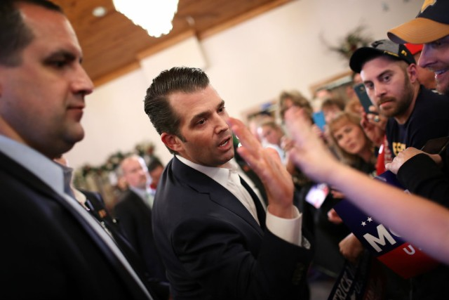 Donald Trump Jr. Compares Immigrants to Zoo Animals While Defending Dad's Wall