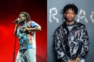 J. Cole's Feature on 21 Savage's New Album Missing From CD Version
