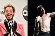 Post Malone and Red Hot Chili Peppers to Perform Together at 2019 Grammys
