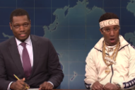 Watch Chris Redd Spoof Soulja Boy's Viral Drake Interview on <i>SNL</i>