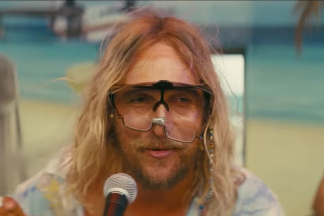 Matthew McConaughey is 'The Beach Bum' in trippy red-band trailer
