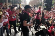 Watch Tom Morello Perform at Los Angeles Teachers Union Rally