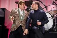 """Watch Elton John & Taron Egerton Perform """"Tiny Dancer"""" at John's Oscars Party"""