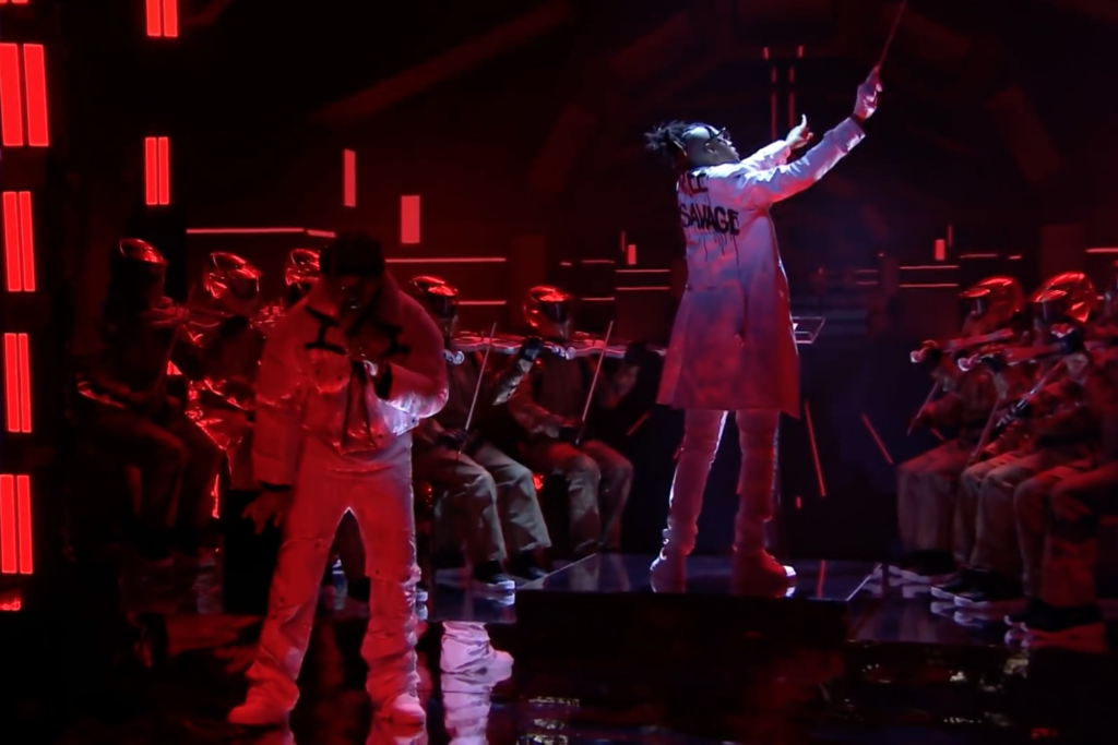 Metro Boomin Shows Support for 21 Savage on 'Fallon'